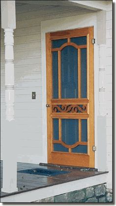Possibility for front screen door.