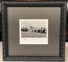We love this little photograph custom framed with acid-free matting, museum glass and frame by @larsonjuhl! #art #pictureframing #customframing #denve #colorado