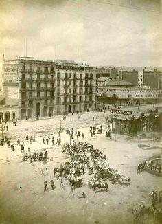 Barcelona, Plaça Catalunya 1.888