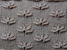 Slip-Stitch Patterns – The Walker Treasury Project Knitting Stiches, Crochet Stitches Patterns, Knitting Charts, Lace Knitting, Crochet Yarn, Stitch Patterns, Knitting Patterns, Knit Stitches, How To Purl Knit