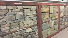 Stop in and visit the Kodiak Mountain Stone showroom in Lethbridge AB at 2620 2 Ave N. Manufactured Stone Veneer - Kodiak Mountain Stone - Creative Mines - E. Manufactured Stone Veneer, Showroom, New Homes, Mountain, Exterior, Videos, House, Home, New Home Essentials