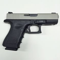 Glock 23, Gen 4 40 caliber, with an NiB-X slide finish that provides enhanced durability and inherent lubricity. The Glock 23 comes with 13 round magazines but accommodate the Glock 22 magazines or the special 22 round magazines available from Glock. My GLOCK 23 is equipped with Dead Ringer Snake eye sights.