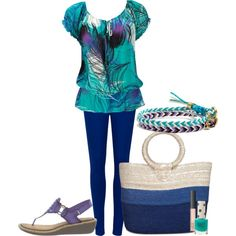 beach fun! featuring Clarks Milliie Flare by amiazhar on Polyvore
