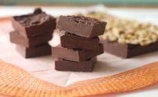 2 Ingredient Chocolate Fudge Recipe - Chocolate