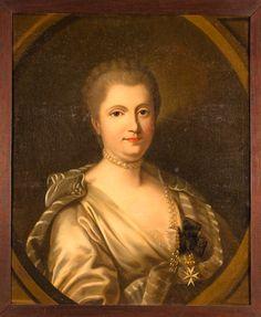 Dame Anne Claude Louise d'Arpajon, Comtesse de Noailles, 1ère. Princesse et Duchesse de Poix, 1ère. Duchesse de Mouchy (1729-1794).