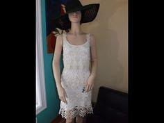 Crochet Vestido De Verano Jasmin - YouTube