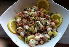 » L'insalata di polpo come si prepara in Salento