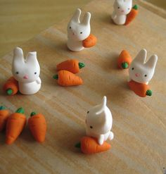 Little toy bunnies would be cute in a terrarium.