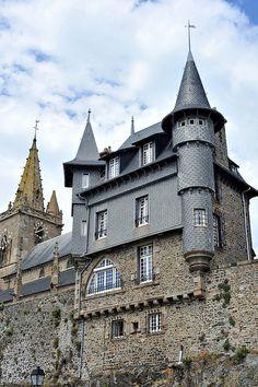 Villa du rempart de Granville, Normandy, France