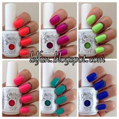 Gelish New Summer Collection Colors Of Paradise Swatches And Review #gelishcolorsofparadise