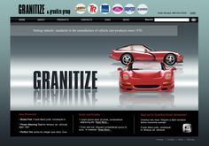 Web Design Concept for Granitize -- via Executionists