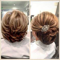 #hair#updo#stylist#wedding#octoberparties#photo#extentions#cristophesalon#beverlyhills #samishair#sami3id#motherofthebride#engagement . Simple updo for a wedding or a fun party . Follow me @sami3id