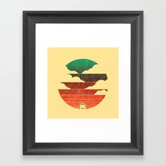 Go West Framed Art Print by Picomodi | Society6