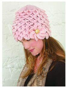 Crocodile stitch fashions by muchifun - issuu Crochet Crocodile Stitch, Knit Crochet, Flower Patterns, Crochet Patterns, Crochet Hat For Women, Flower Hats, Bridal Flowers, Flower Making, Crochet Clothes