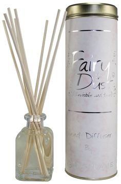 Fairy Dust. Invisible & True Of all our reed diffusers, this is our most popular. A difficult scent to describe; based on a fine fragrance. It's Powdery, Warm, Sparkly and Magical. In short- Fairy Dust!