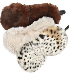 Dorm Decor's Fur Eye Mask is super comfortable and comes in three colors, sable, ivory and leopard. And trust us on this one, if you have a roommate you're gon Dorm Room Accessories, Travel Accessories, Dorm Design, Fabulous Furs, Sleep Mask, Unique Home Decor, Dorm Decorations, Diy Christmas Gifts, Graduation Gifts