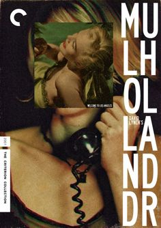 """Criterion Cover for David Lynch's """"Mulholland Drive"""""""