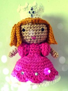 Free Wizard of Oz Glenda amigurumi crochet pattern
