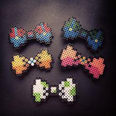 Mario bows perler beads by mariarumb