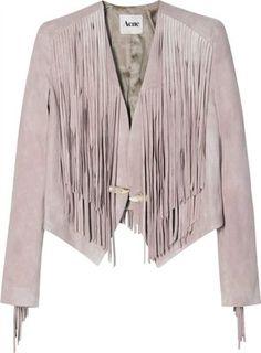 ShopStyle: Acne Aroma Aged Suede Jacket