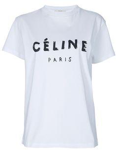 Céline Printed t-shirt