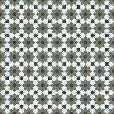 Moroccan Encaustic Cement Tile Pattern 17b