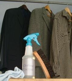 "Bye-Bye, Dry Cleaning: Green Your Dry Cleaning -- ""We often think fine clothing must be dry cleaned, and for delicate and shrinkage-prone fabrics, alternatives are scarce. Dry Cleaning At Home, Deep Cleaning Tips, Green Cleaning, Diy Cleaning Products, Cleaning Solutions, Cleaning Hacks, Cleaning Supplies, Household Products, Household Tips"