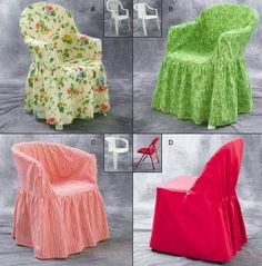 Sewing Craft Kwik Sew 3132 from Kwik Sew patterns is a Crafts Chair Covers sewing pattern - Furniture Covers, Sofa Covers, Slipcovers For Chairs, Upholstered Chairs, Plastic Chair Covers, Kwik Sew Patterns, Chair Drawing, Chair Makeover, Diy Chair