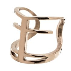 Trust ring by Edblad - In the ring Trust are the symbols of faith, hope and love. Cross, anchor and heart are in this design, merged into one - here in shiny rose gold.