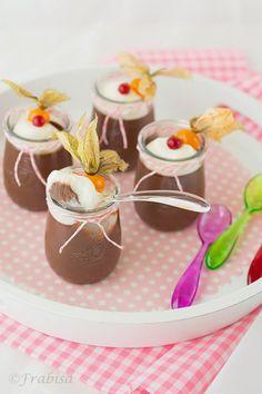 La cocina de Frabisa: Cremoso de chocolate y mascarpone. Vasitos Expréss