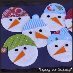 Diy Christmas Cards, Christmas Crafts For Kids, Diy Crafts Videos, Diy And Crafts, Nursing Home Gifts, Paper Snowflakes, Winter Kids, Winter Theme, Projects To Try