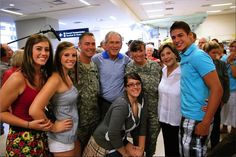 How To Thank A Soldier, By George W. Bush It is actually very easy. Always treat their families with great respect. American Freedom, American Pride, Laura Bush, Bush Family, Conservative Republican, Military Men, Military Veterans, God Bless America, First Nations