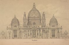 Gallery of Exhibition: Architectural Master Drawings from the Albertina Collection - 1