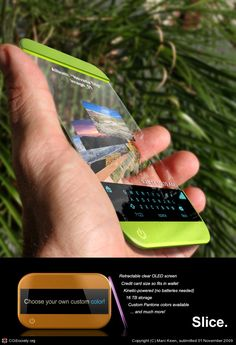 How this for a future #PDA or cell #phone? #glass #futurism #technology #future