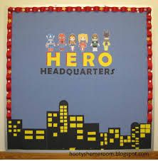 super hero classroom theme - Google Search Could use Heb 11 and do heroes of the faith?