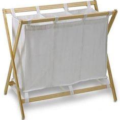 Dema Wäschesortierer / Wäschesammler mit 3 Fächern