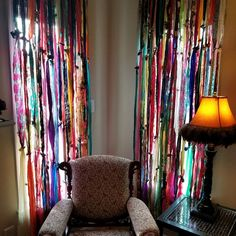 Bohemian gypsy rag curtains Outside United States shipping Rag Curtains, Bohemian Curtains, Shabby Chic Curtains, Outdoor Curtains, Bohemian Decor, Valance, Bohemian Style, Unique Curtains, Colorful Curtains