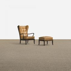 131: Danish / lounge chair and ottoman < Scandinavian Design, 17 May 2012 < Auctions | Wright