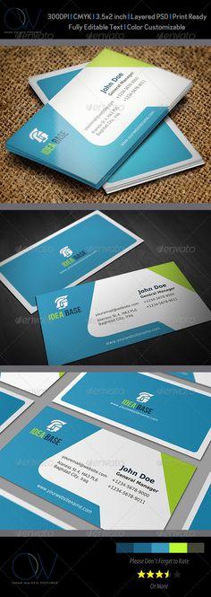 Corporate Business Card Vol.12