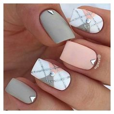13 Beautiful summer nail art designs to try this summer 2017 ❤ liked on Polyvore featuring beauty products, nail care and nail treatments