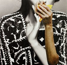 Cherelle Sappleton  http://usedmagazine.co.uk/post/1358 There's a lot of fashion based collage art around these days so it takes a particularly fine example to shine though. Cherelle Sappleton creates such examples