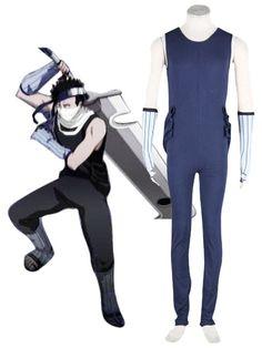 Naruto Momochi Zabuza Cosplay Costume Tailor Made      http://www.cosplayprice.com/p2614/naruto-momochi-zabuza-cosplay-costume-tailor-made.html