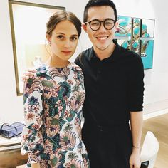 your best source for everything of the incredible actress, Alicia Vikander. Alicia Vikander is best known for her roal as Gaby Teller in The Man From U. Fashion News, Runway Fashion, Fashion Models, Fashion Trends, Editorial Photography, Fashion Photography, Photography Magazine, Alicia Vikander Style, Swedish Actresses