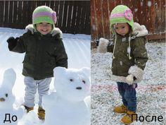 Как удлинить детскую куртку и ее рукава