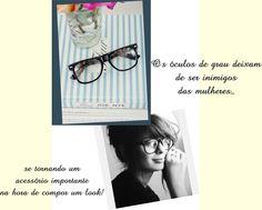 Make + óculos de grau: Inspire-se