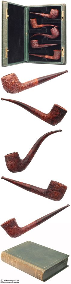 Dunhill Cumberland Five Pipe Set with AD Book Box (1981)
