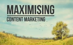 Maximising content marketing is as much about planning and creation of the content as distributing it. Without the latter, you will fail. Content Marketing, Fails, Track, How To Plan, Digital, Modern, Blog, Trendy Tree, Runway