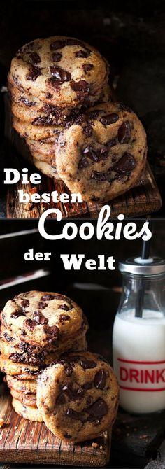Das Cookie Rezept für die besten Cookies der Welt. Welche zwei Geheimzutaten die Cookies so gut machen, könnt ihr auf dem Blog herausfinden.
