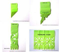Baby-Deco: Cómo hacer papel picado