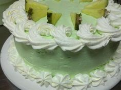 Key Lime Cake - Pineapple Cafe